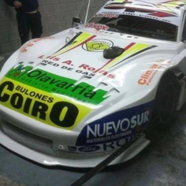 Nicolás Pezzuchi presentó su nuevo auto