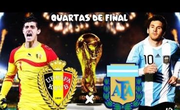 Palpitamos Argentina-Bélgica por Radio Olavarría