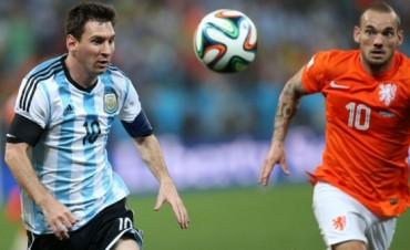 Argentina y Holanda van al alargue