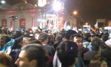 Olavarría festejó el triunfo de Argentina