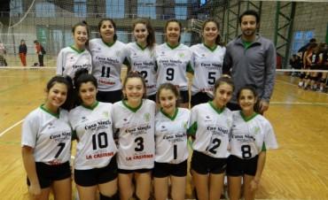 Pueblo Nuevo clasificó a la Copa Argentina de Voleibol