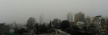 Reducida la visibilidad por neblina y bancos de niebla