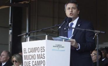 Inauguración: Duros conceptos del presidente de la SRA