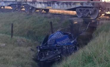 Una mujer falleció en un accidente en el paso a nivel de Colonia Hinojo