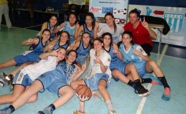 Ferro Campeón Zonal U-17 Femenino de basquetbol