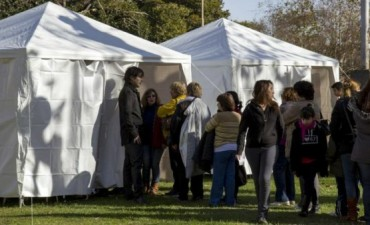 Vacunación antigripal: puesto sanitarios en el Parque Eseverri y Mitre