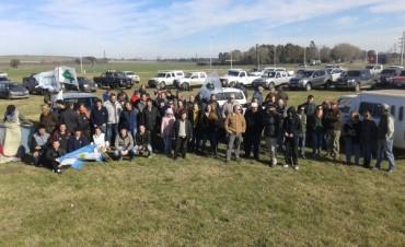 Ruralistas de Olavarría Concentraron en la Ruta