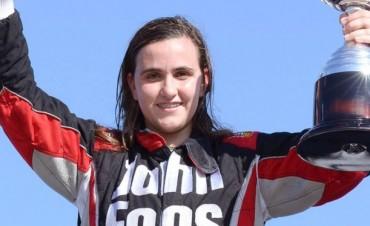 Josefina Vigo entrenó en Concepción