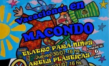 Talleres y cine en Macondo