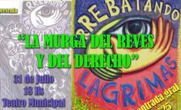 """""""La Murga del Revés y del Derecho"""" en el Teatro Municipal"""