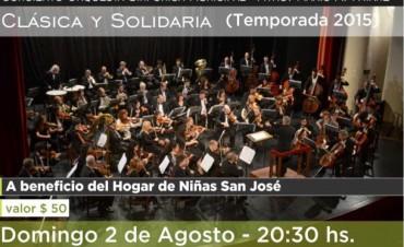 """Concierto de Clásica y Solidaria  a beneficio del Hogar de Niñas """"San José"""""""