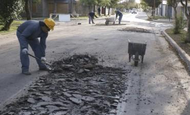 Hoy comienzan los trabajos de bacheo en las localidades