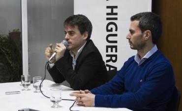 Lisandro Sabanés brindó una charla en La Higuera
