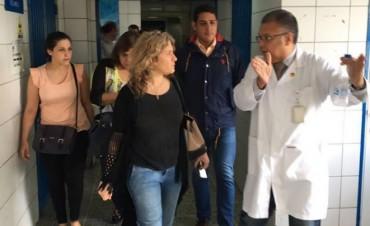 La Diputada Lordén viajó a Venezuela