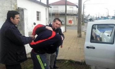 Detuvieron a un acusado por robo