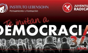 Lanzan el concurso 'Democracia 34 años'