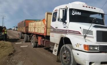 Control Urbano realiza controles en camiones
