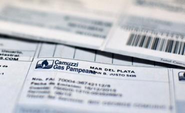 Camuzzi afirma que en Junio y Julio casi el 80% de los usuarios pagaron hasta $750 por el gas