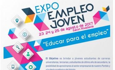 En agosto llega una nueva Expo Empleo Joven