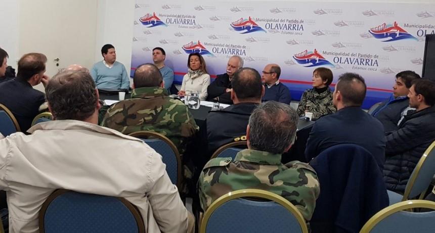 Se realizó una nueva reunión mensual del Consejo de Seguridad
