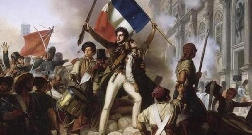 Acto por el día nacional de Francia