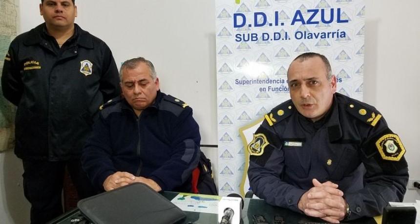 Jefes policiales brindaron detalles tras los allanamientos y detenciones