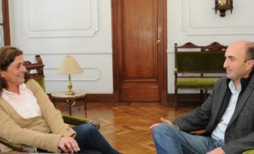 Arregui recibió al Presidente del Concejo Deliberante