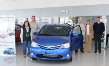 Cena Anual Solidaria: por tercer año consecutivo se sorteará un Toyota