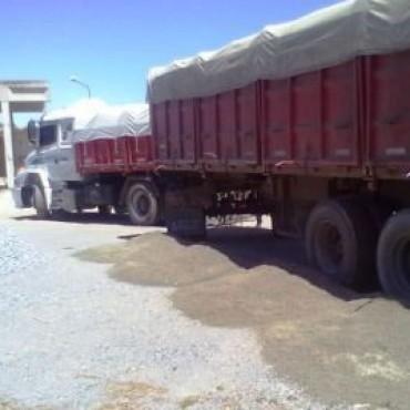 Transportes con exceso de carga