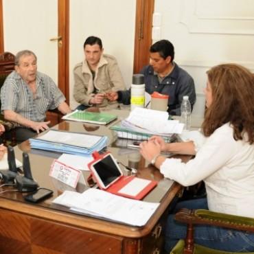 Arregui se reunió con dirigentes fomentistas