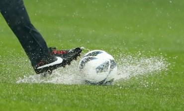 Por la lluvia no hubo fútbol ni automovilismo