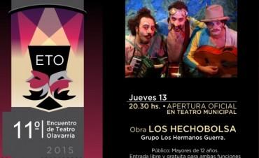 """""""Los Hechobolsa""""  abrirán el 11º Encuentro de Teatro Olavarría"""