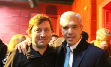 Santellán acompañó a Domínguez en el cierre de campaña