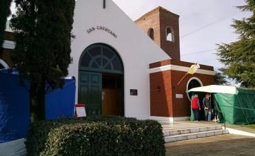 San Cayetano con mucho público en su día