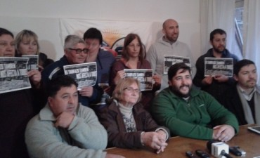 Presentan la Multisectorial contra el Tarifazo y anuncian la movilización