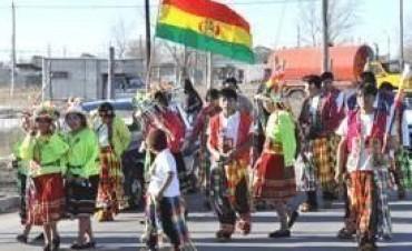 Acto por el Día de la Independencia de Bolivia