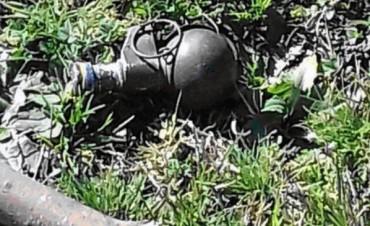 Policía Distrital encontró una granada sin detonar