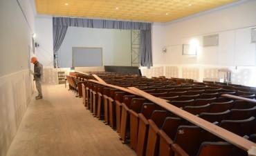 Centro Cultural Sierras Bayas: la recuperación de la sala de teatro