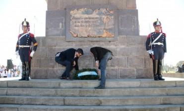 Acto por 166 aniversario de la muerte del General José Francisco de San Martin