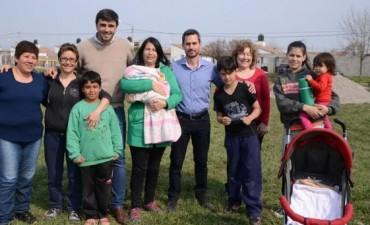 Más espacios verdes para los vecinos de Sierra Chica