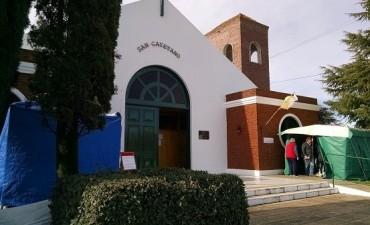 San Cayetano: con misas y procesión se celebra el día del santo