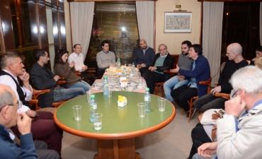 Aguilera y De Pedro se reunieron con representantes de PYMES locales