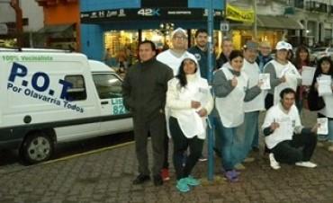 Por Olavarría Todos cerró campaña en la calle