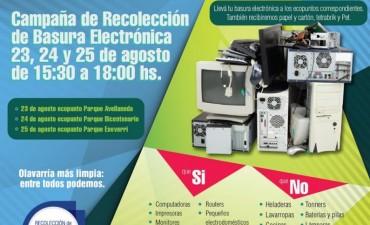 Campaña de recolección de Basura Electrónica
