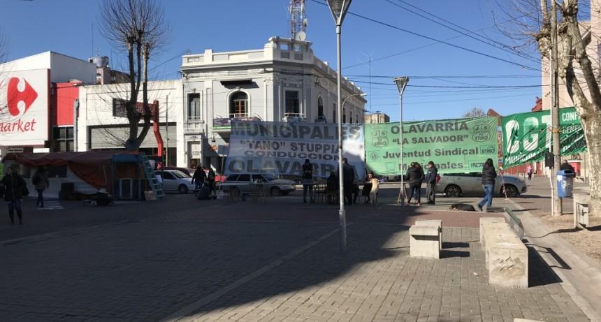 Carpa municipal: El Juzgado de Faltas infracciona al sindicato