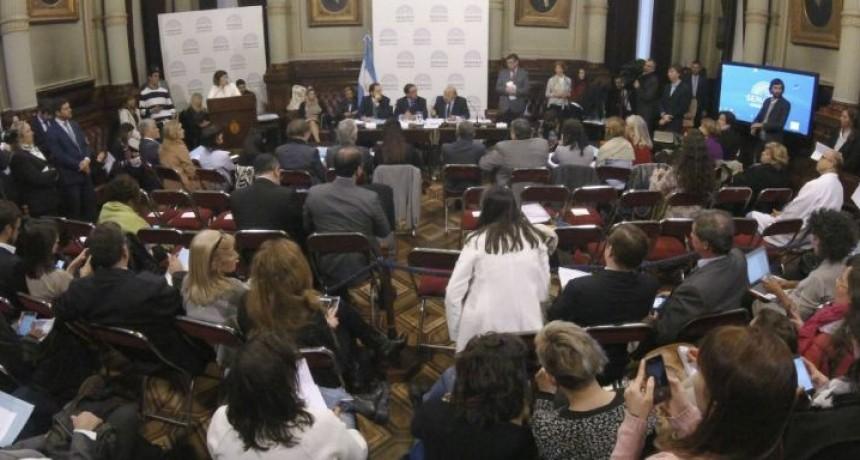 La proyección mantiene una diferencia de siete votos para la no aprobación del proyecto de ley