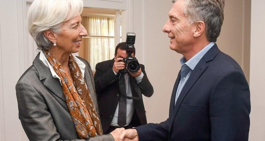 Detalles del nuevo acuerdo con el Fondo: en 2019 se podría acceder de manera adelantada a USD 29.000 millones