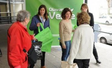 El Gobierno Municipal entregó más de 43.000 Ecobolsas