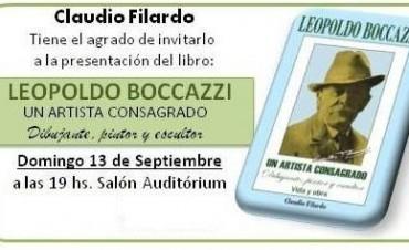 Presentan este domingo libro sobre la obra de Leopoldo Bocazzi