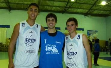 Basquetbol: Nicolás Lorenzo piensa en el Provincial